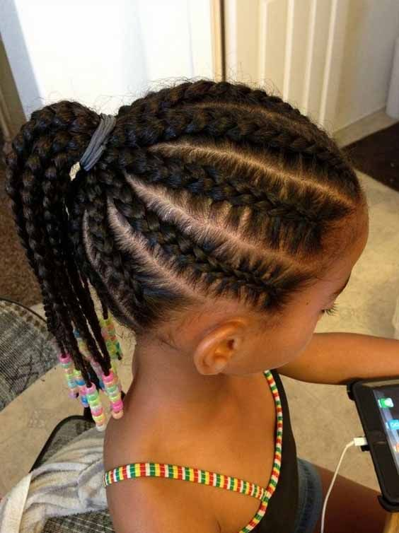 Searching For Braids Hairstyles For Little Girls You Have Come To The Right Place We Hair Styles African American Braided Hairstyles Kids Braided Hairstyles