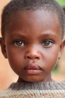 niños africanos ojos