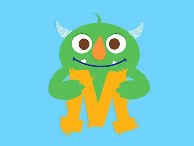 M is for Monster by Sarah Rebar