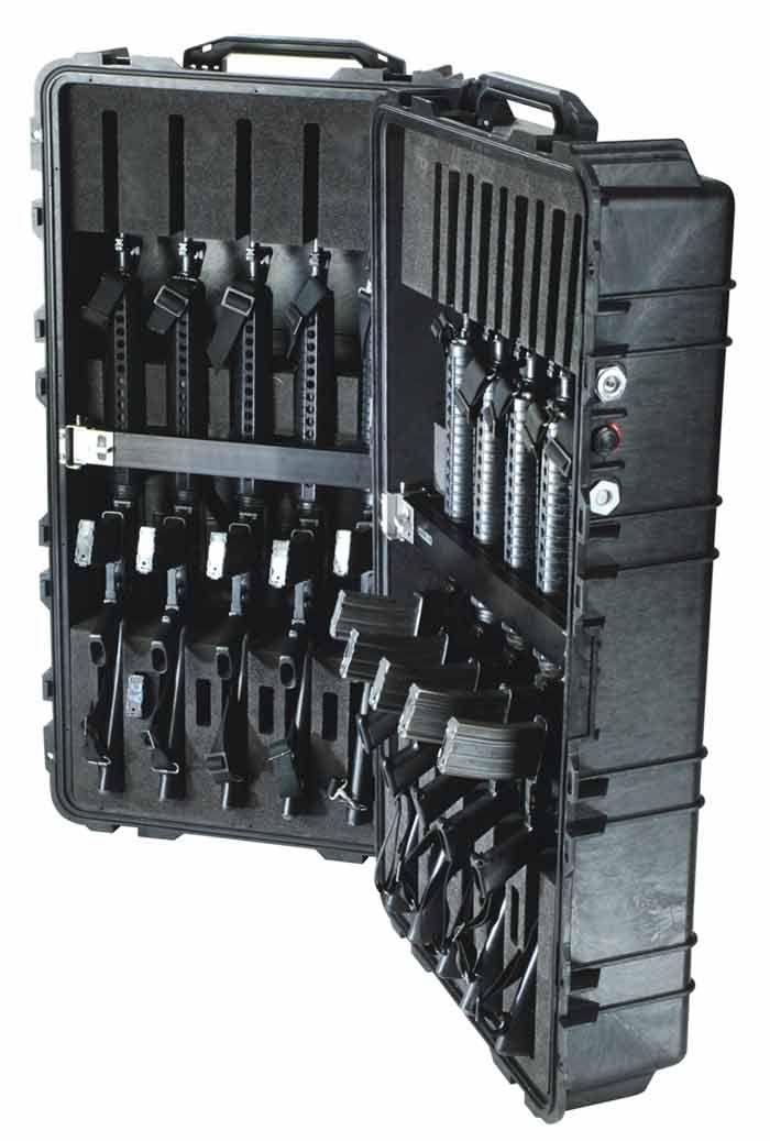 pelican 1780 weapons case with rifle foam cut insert 1780wrf