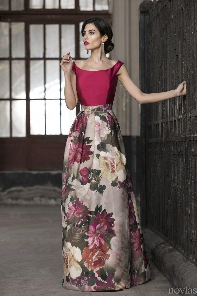 e48765079 vestido invitada raffaello flores | para una ocasion especial ...