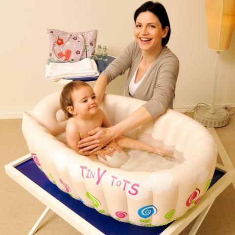 Travel - Inflatable Travel Baby Bathtub | Baby Bathtime ...