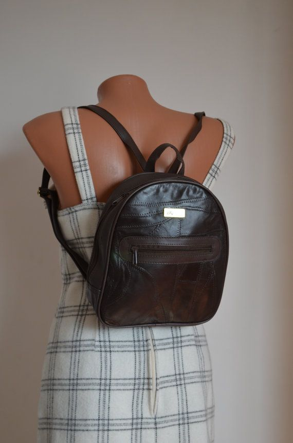 Vintage Very Cute Small Backpack by VvinZONE on Etsy dd1a2ecec7d