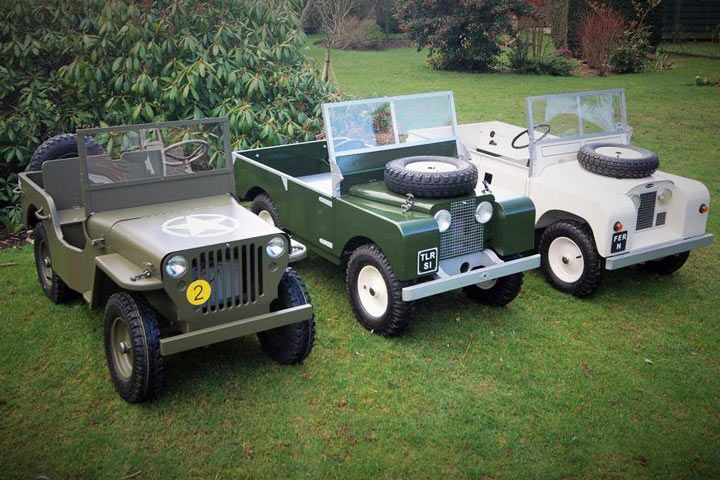 toylander land rover electric car 1