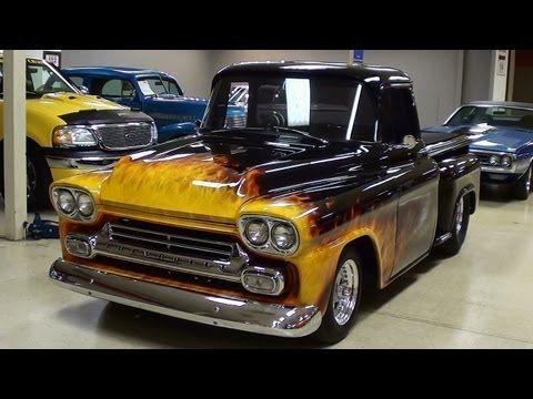 1958 Chevrolet Apache Hot Rod Pickup Big Block Youtube Apache
