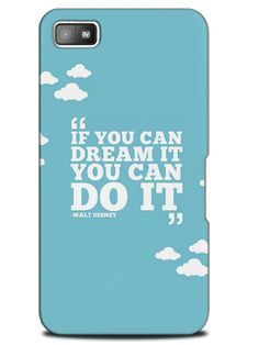 Cute Funny Positive Motivation Quotes Case Cover Design For Blackberry