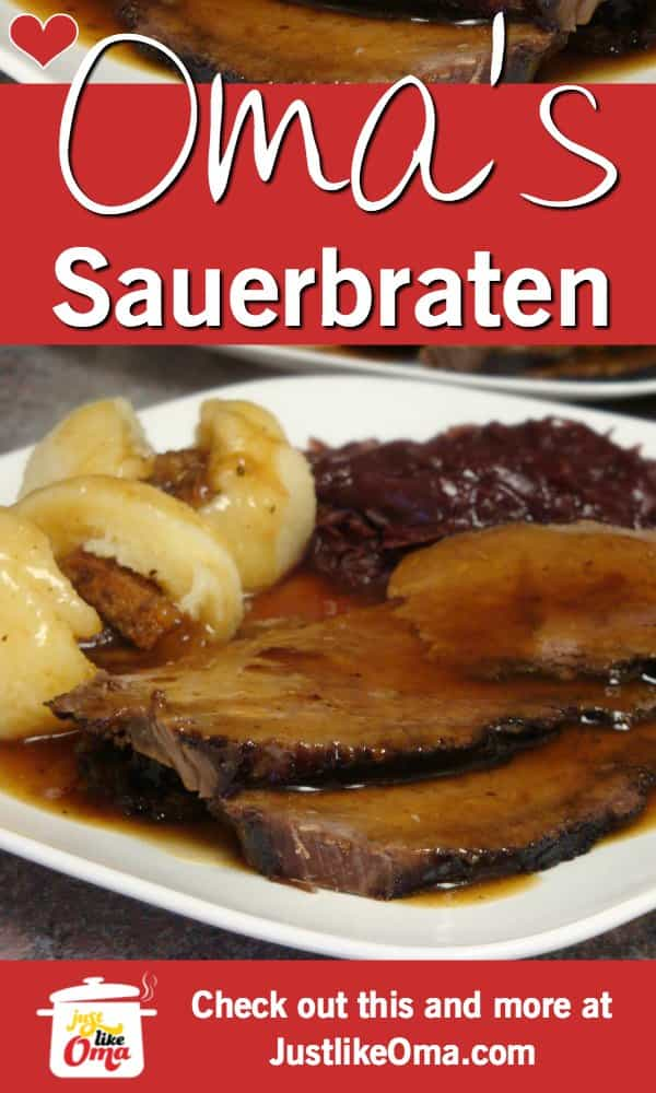 Photo of Authentic German Sauerbraten Recipe using a Crockpot