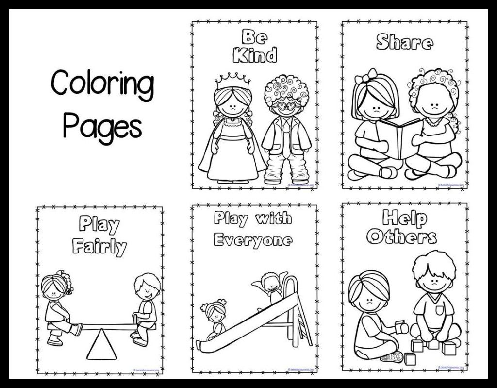 Preschool Color Sheet Growing