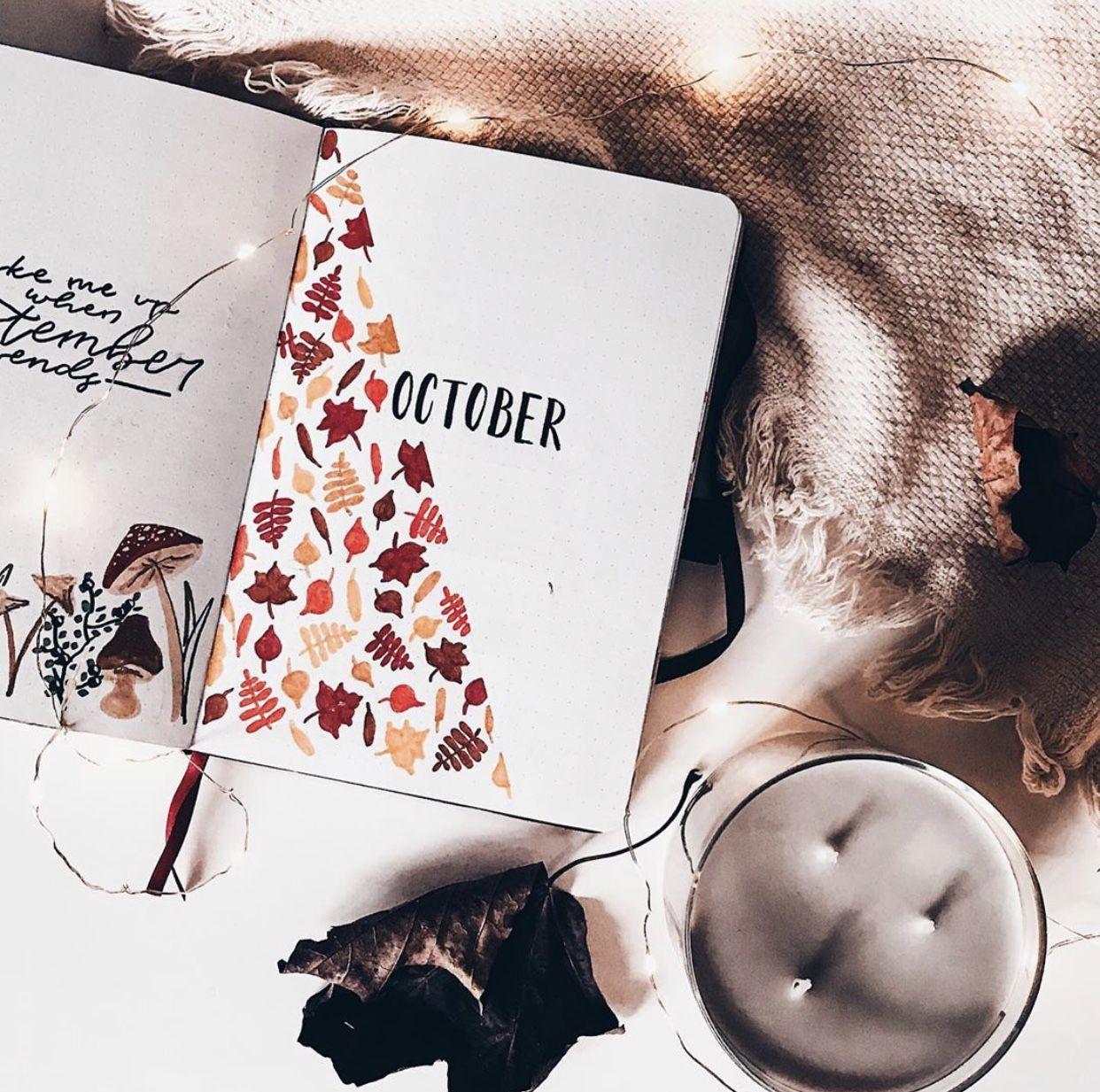 Fall Bullet Journal Inspiration