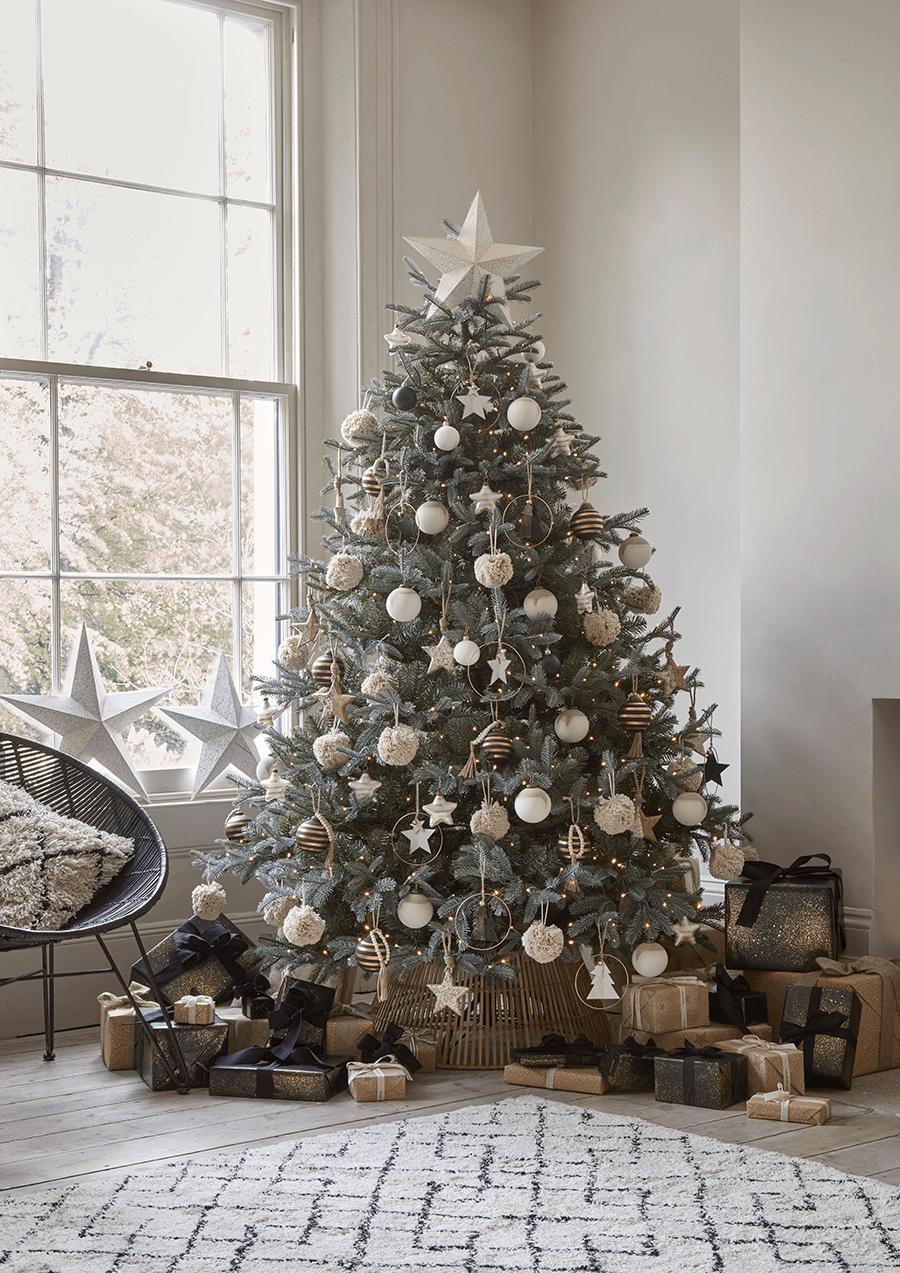 christmas tree #weihnachten NEW Three Speckled Wooden Stars - Christmas Accessories - Christmas #woonkamerideeen
