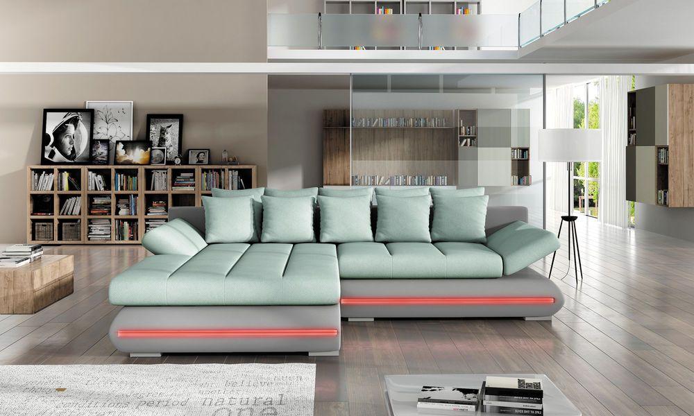 Sofa Couchgarnitur CITY Couch Sofagarnitur Wohnlandschaft - big sofa oder wohnlandschaft