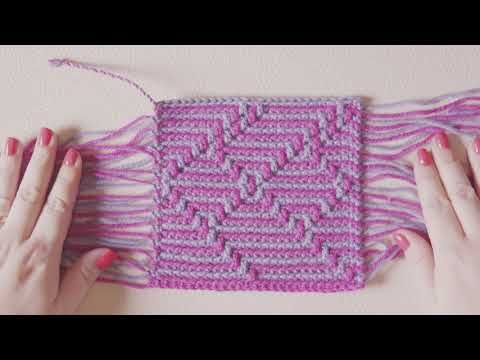 Havana Cal Double Border Tails Youtube Crochet Crochet