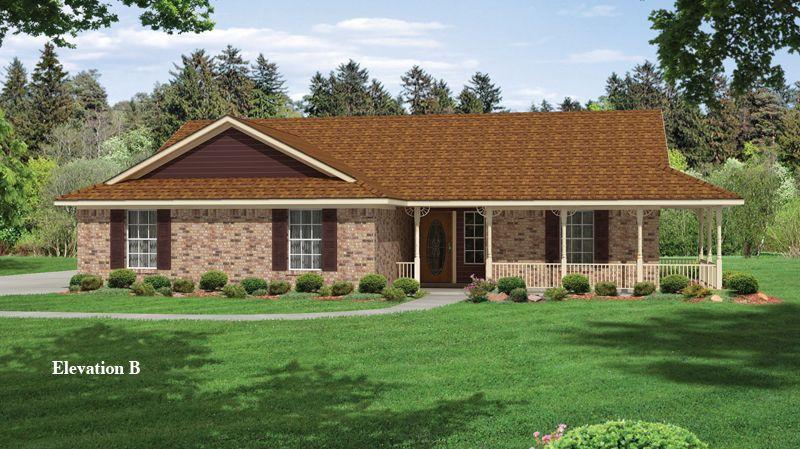 Carlton Iv Informal House Styles House Plans House