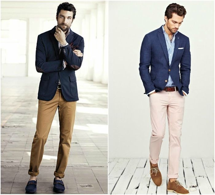How to Wear Jeans With a Blazer chinos | Project Board - ASWSTTS ...
