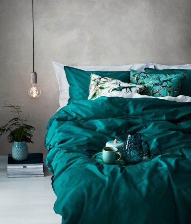 King Queen Duvet Cover Set Teal Home H M Us Bedroom Makeover Teal Bedding Bedroom Teal