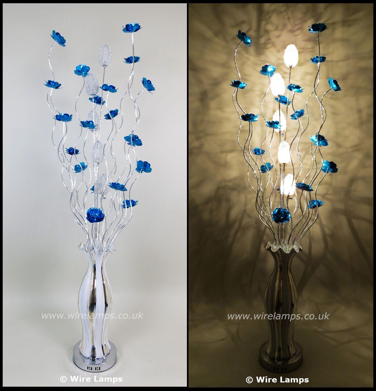 http//www.wirelamps.co.uk/WLF30885blue.html Ceramic
