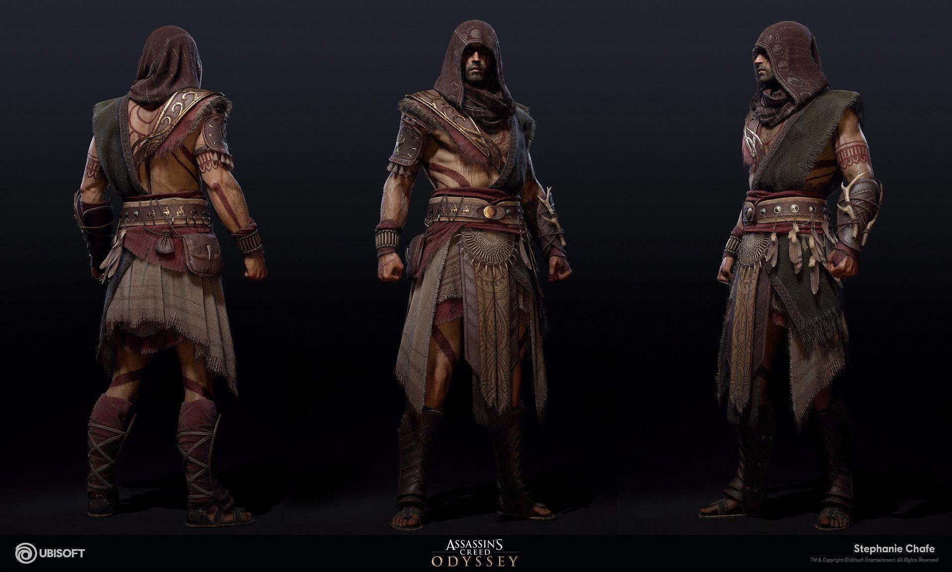 Artstation Hunter Suit Assassin S Creed Odyssey Stephanie