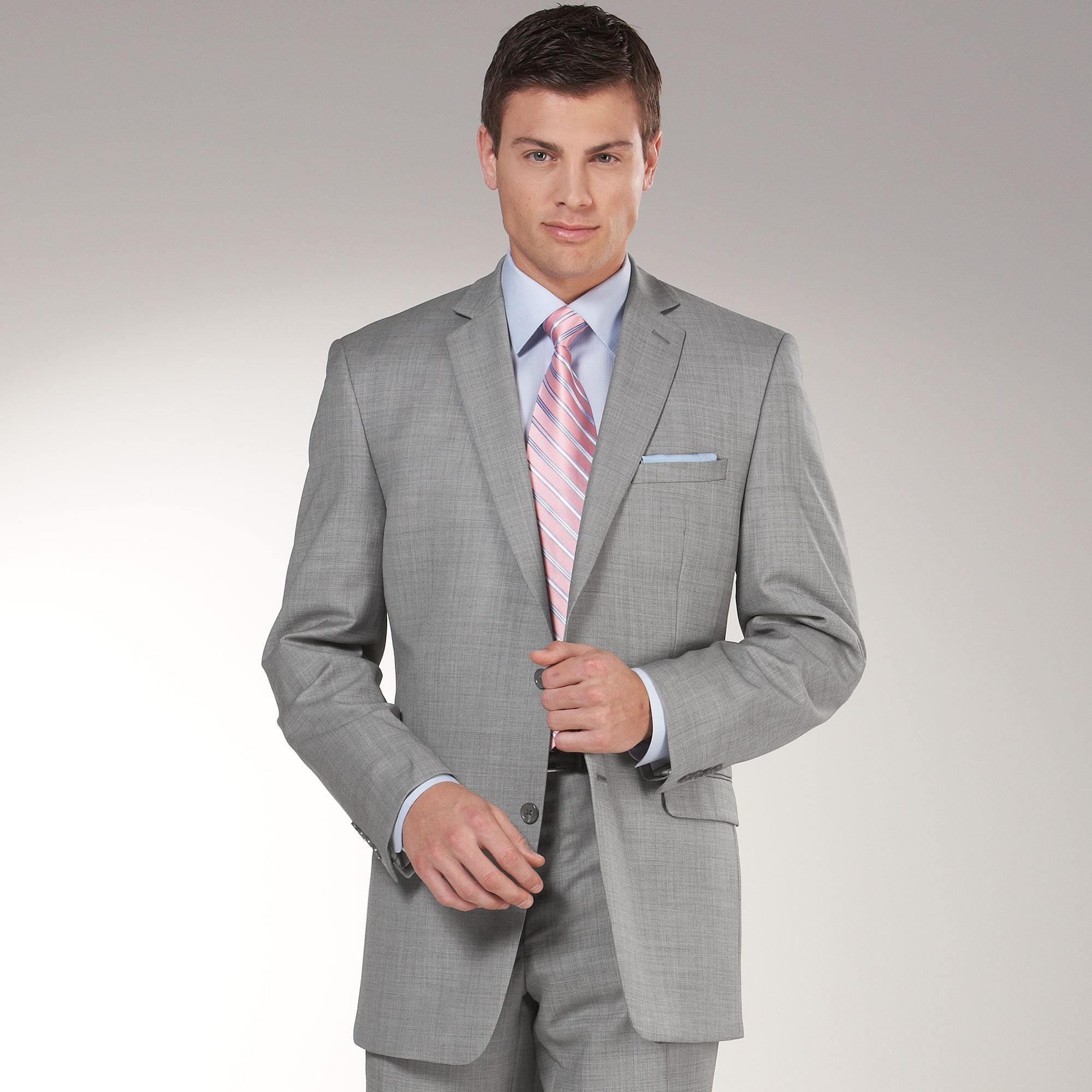 Looking for this Lighter Grey Color Suit | Colors: Blacks ...