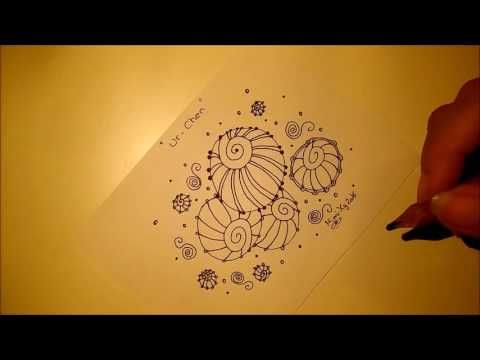 Lesson 12 Three Fun Freeform Patterns Youtube Zentangle Muster Zeichnen Kritzeleien