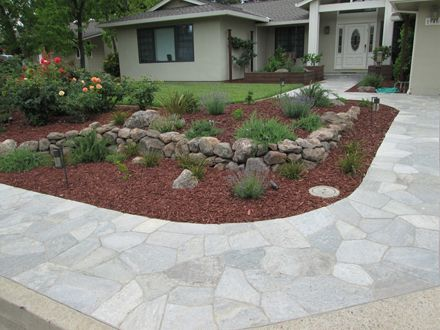 Low Water, Drought Tolerant Garden & Landscape Design in Sunnyvale ...