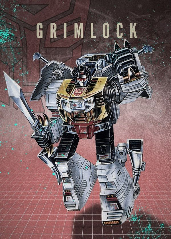"Transformers Autobots Grimlock #Displate explore Pinterest""> #Displate artwork by artist ""Rykker o7"". Part of… 
