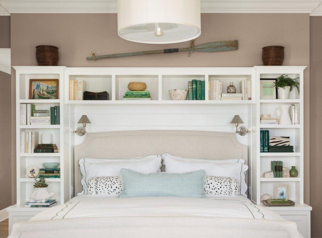 22 Of The Best Bedroom Storage Hacks Art Home Bedroom Diy Headboard Storage Bedroom Headboard