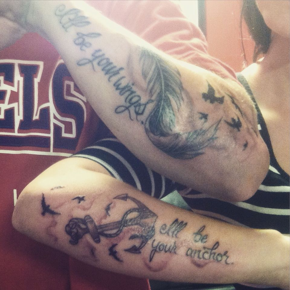 Brothersister tattoos Brother sister tattoo, Sister