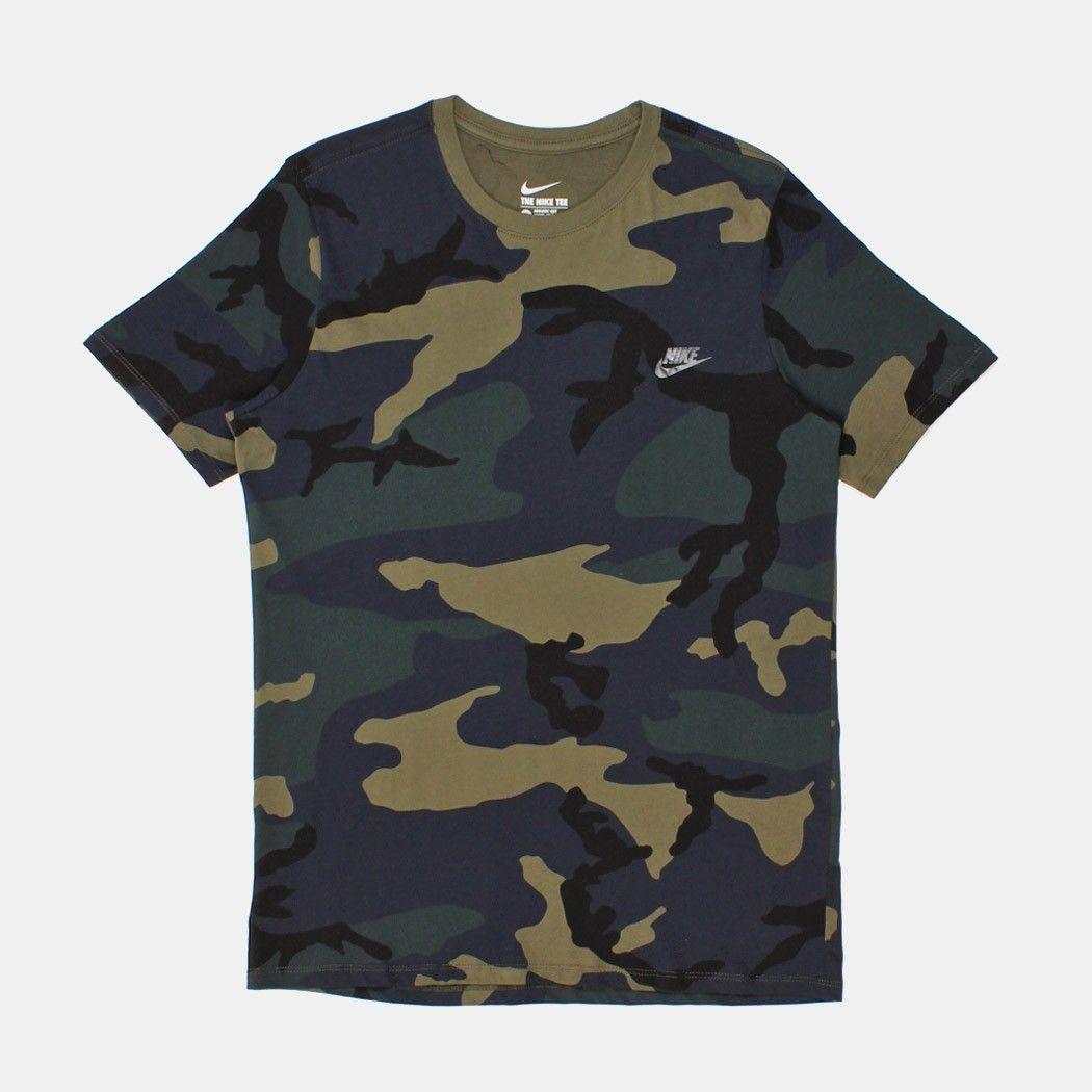 Nike Camo Futura T-shirt - Green Camo