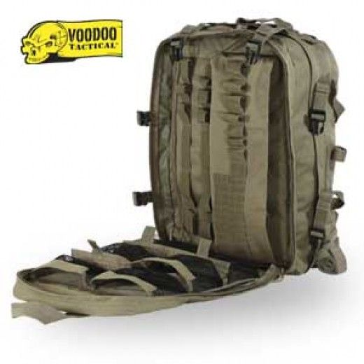 VOODOO TACTICAL Deluxe Professional Special Ops Field Medical Pack -  Military Gear Bags - Packs 4b8ed70d43af0