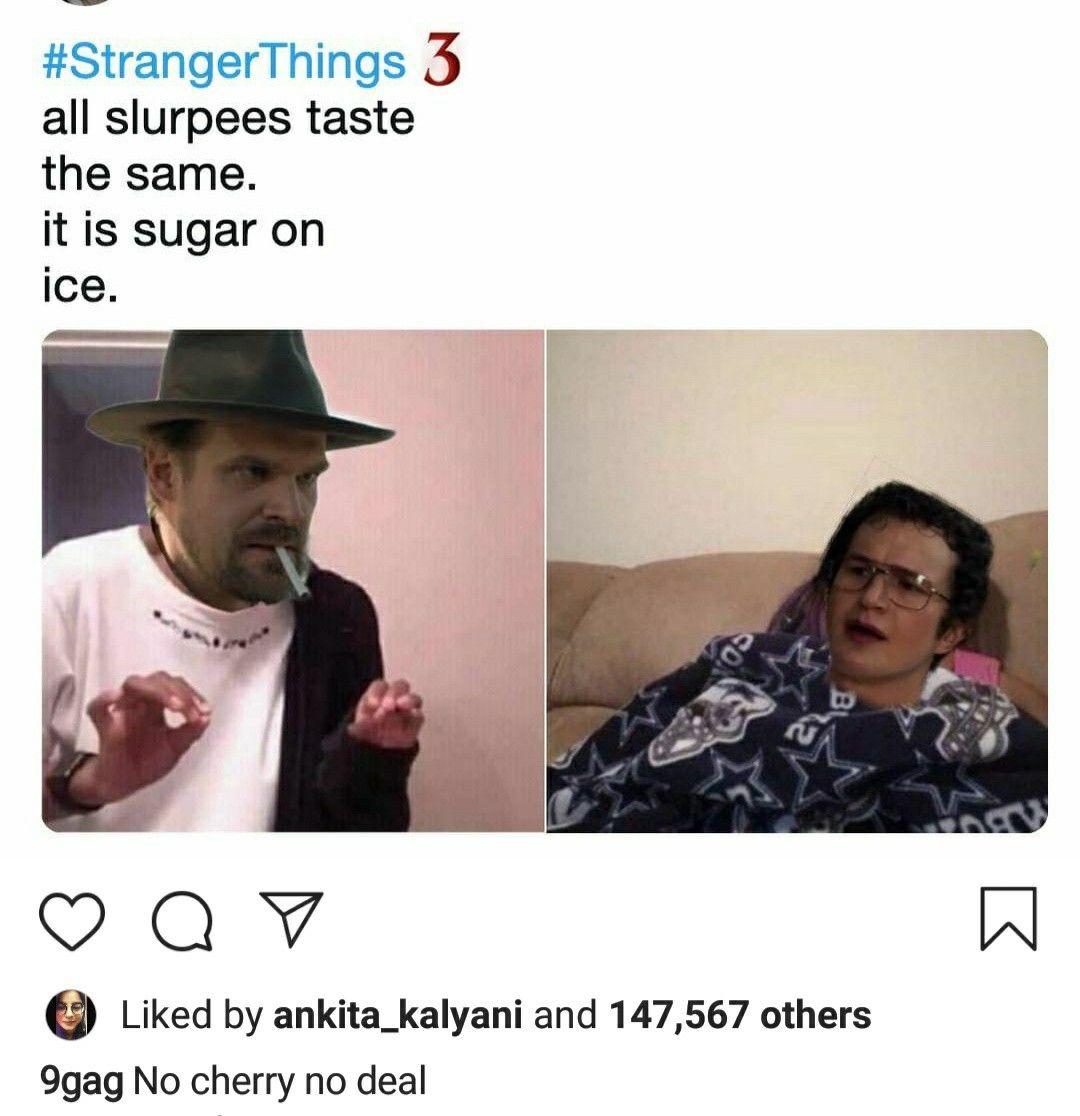 Hopper doesn't understand #strangerdanger