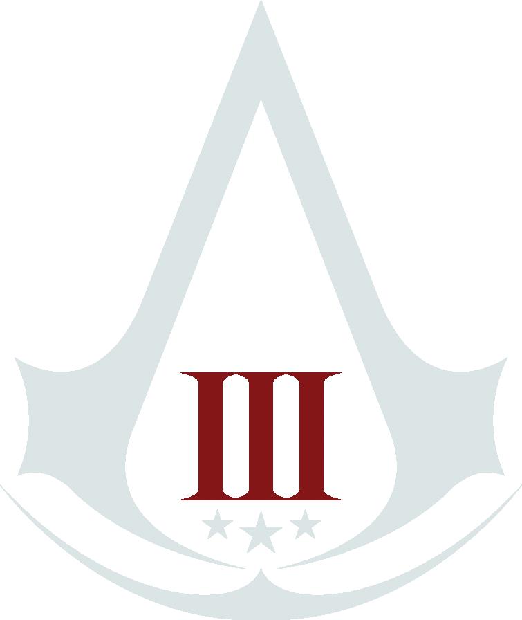 Afbeeldingsresultaat voor Assassin's Creed III logo
