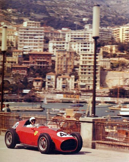 Phil Hill in the 1959 Monaco Grand Prix