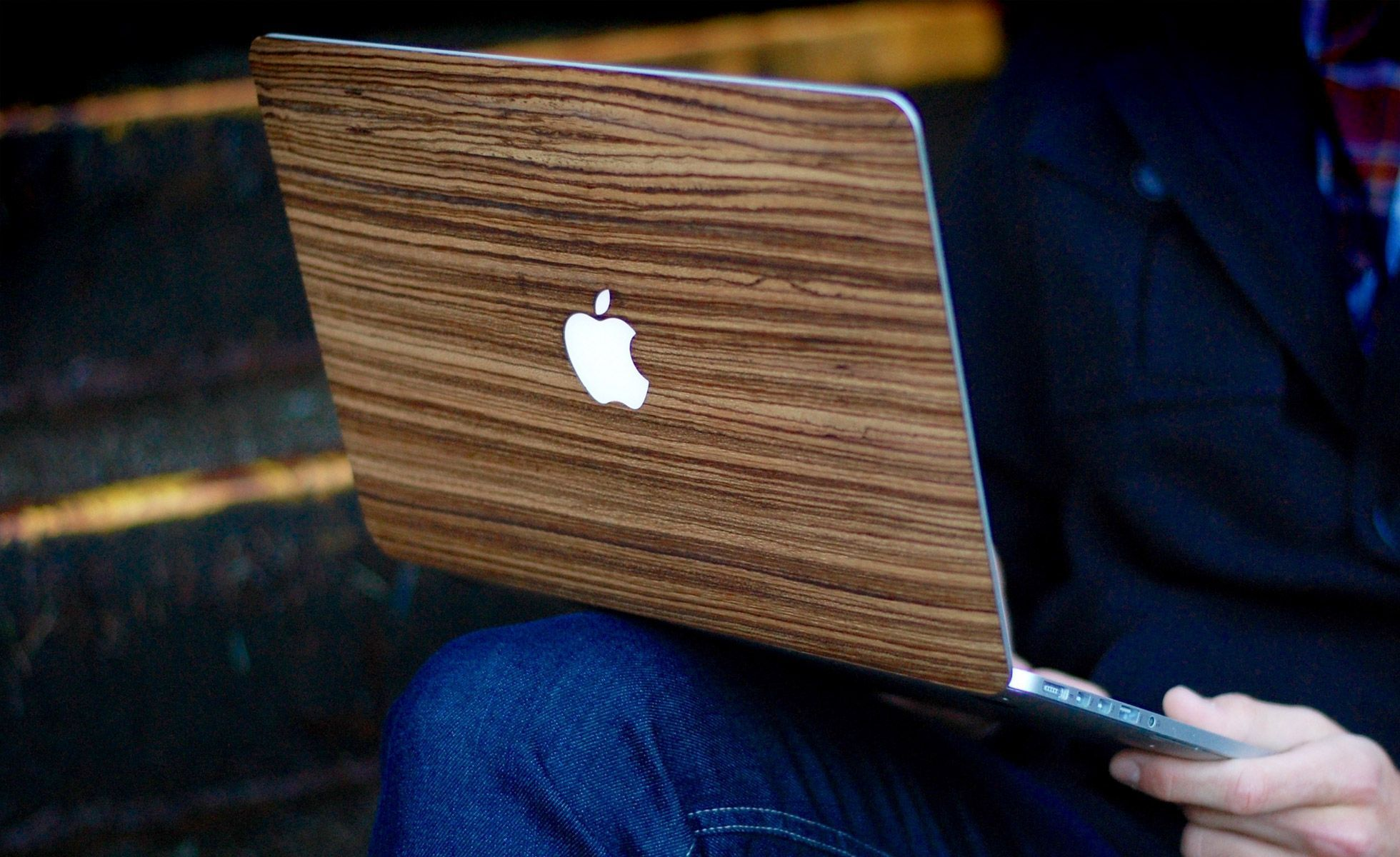 Touch Of Wood MacBook Cover - Gear Hungry