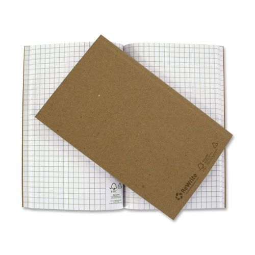 Recycled Journal Graph 5 X8 32 Sheets Kraft - Rebrwrtg5x8ea - Journals - Books - General Office