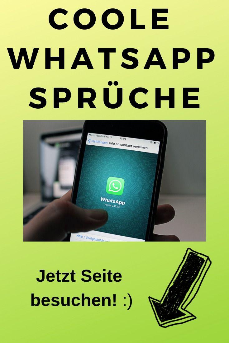 WhatsApp Status Sprüche und mehr | Coole whatsapp sprüche ...