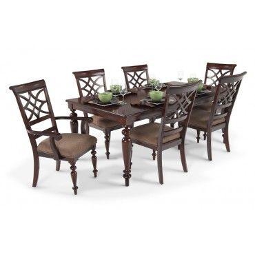 600 at Bobs Discount Furniture - Woodmark 7 Piece Dining Set ...