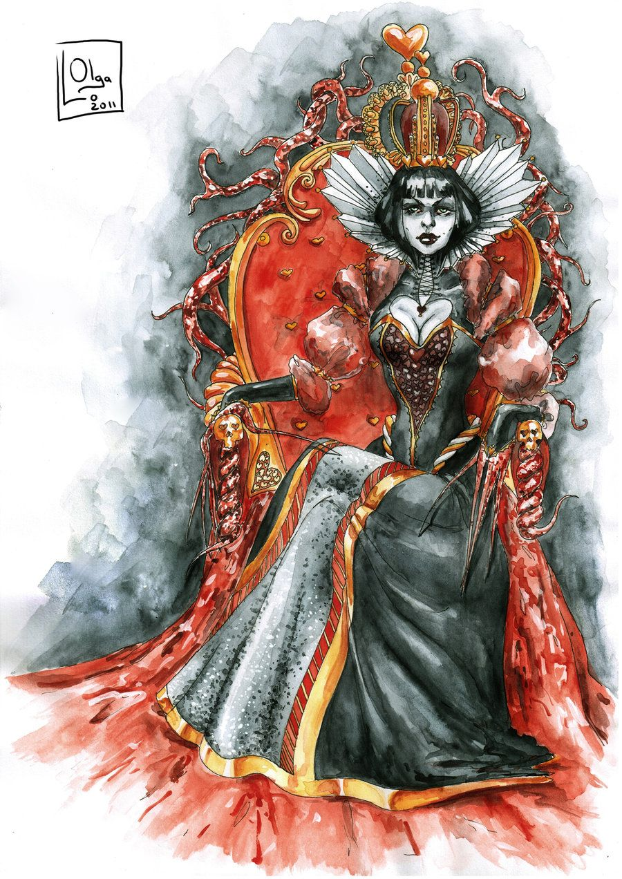 Queen of Hearts by OlgaLo on deviantART Queen of hearts