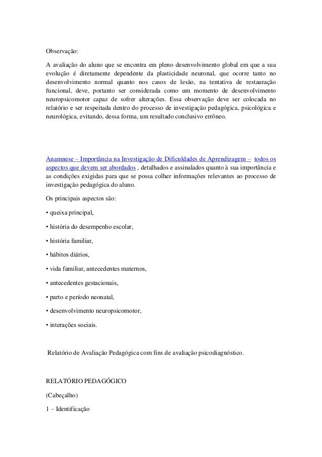 Favoritos Modelo relatório individual | relatorios | Pinterest KU71
