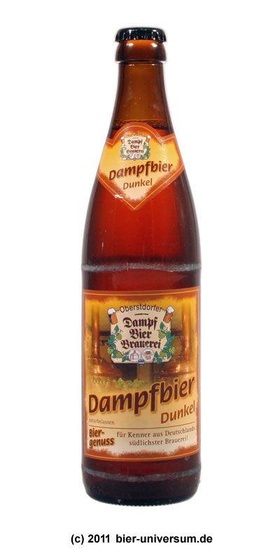 Oberstdorfer Dampfbierbrauerei - Dampfbier Dunkel 5,2% pullo ...