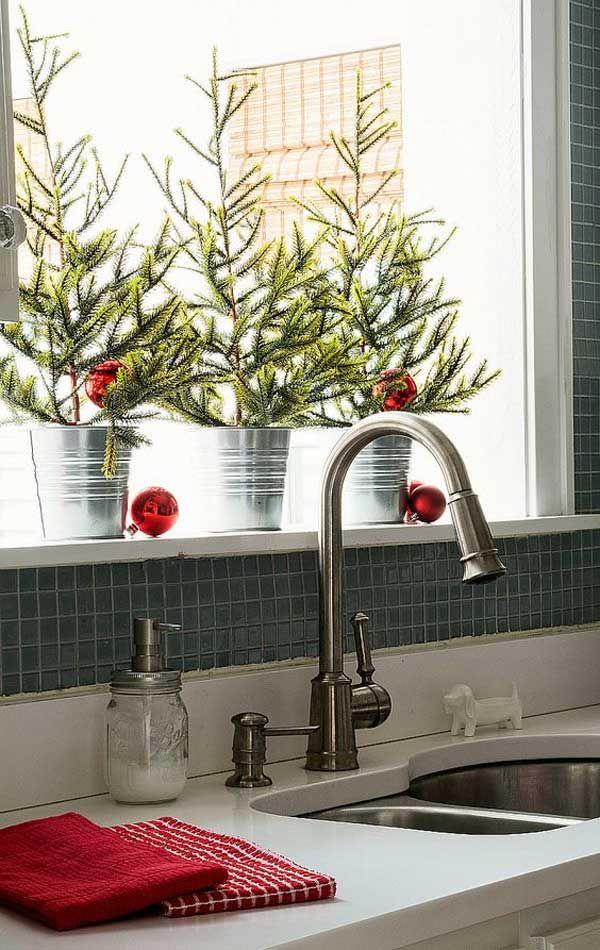 Natale In Cucina.Una Decorazione Natalizia In Cucina Cucina Natalizia Casa Natalizia Natale Intimo