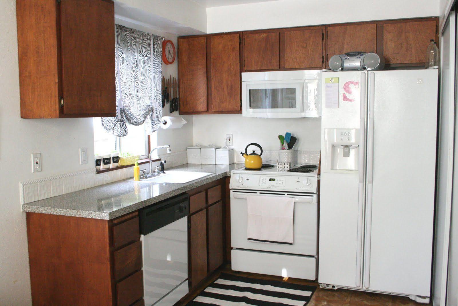 C mo decorar una cocina peque a cocina peque a peque os - Como amueblar una cocina pequena ...
