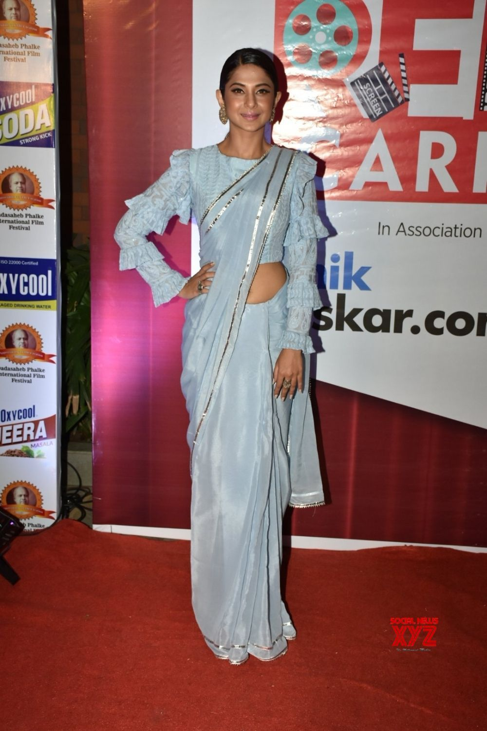 Mumbai Dadasaheb Phalke Excellence Awards Jennifer Winget Gallery Social News Xyz Jennifer Dress Jennifer Winget Lengha Dress