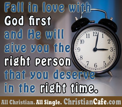 When is the right time to start dating as a christian