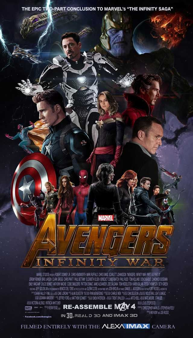 AVENGERS INFINITY WAR SOUL GEMS Movie Teams Poster A3//A4 Glossy Print Fan Art