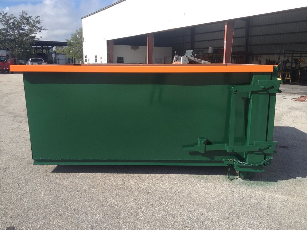 10 Yard Heavy Duty Roll Off Dumpsters Containers Boxes Weldwerx Roll Off Dumpster Dumpsters Dumpster