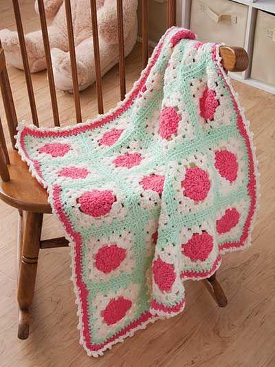 Crochet - Blankets - Baby Blocks Blanket -- Free Crochet Pattern ...