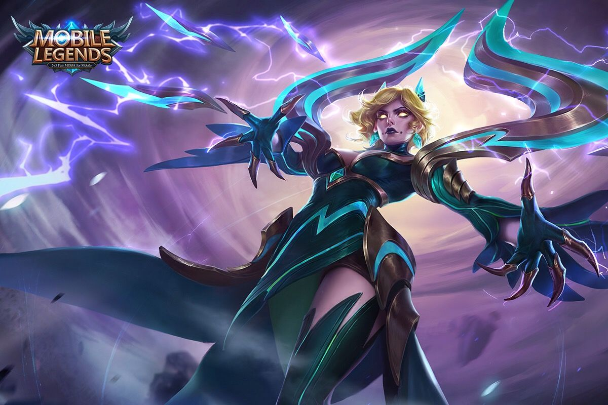 Eudora Model Renovation + New Skin - Lightning Sorceress ...