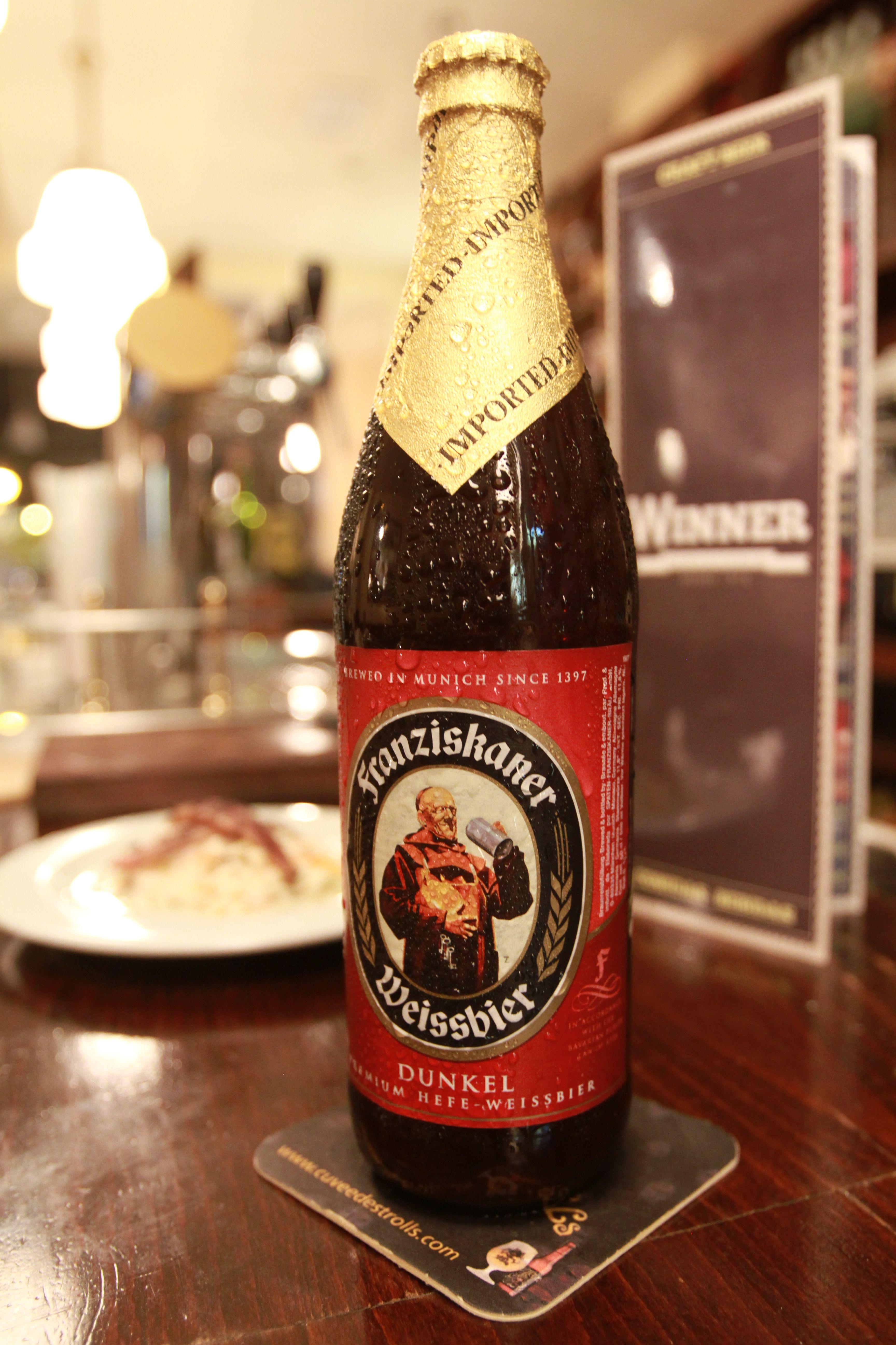 Cerveza Alemana Franziskaner Dunkel De Trigo 5º Y Toque Amargo