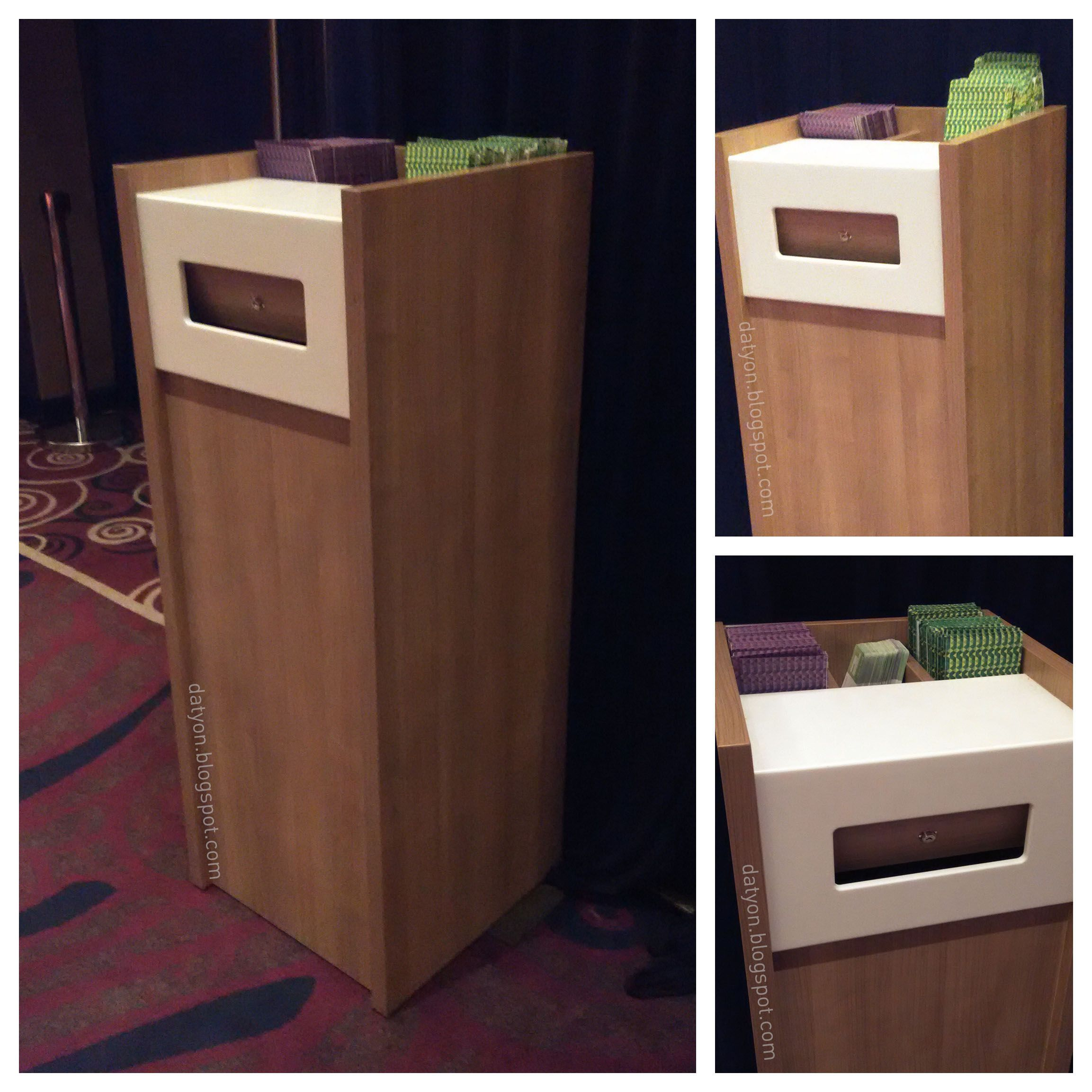Offering Box for Modern Churches (With images) | Offering ...