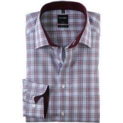 Non-iron shirts for men -  Olymp Luxor shirt, modern fit, New Kent, dark red, 39 olympymp  - #EasyFi...